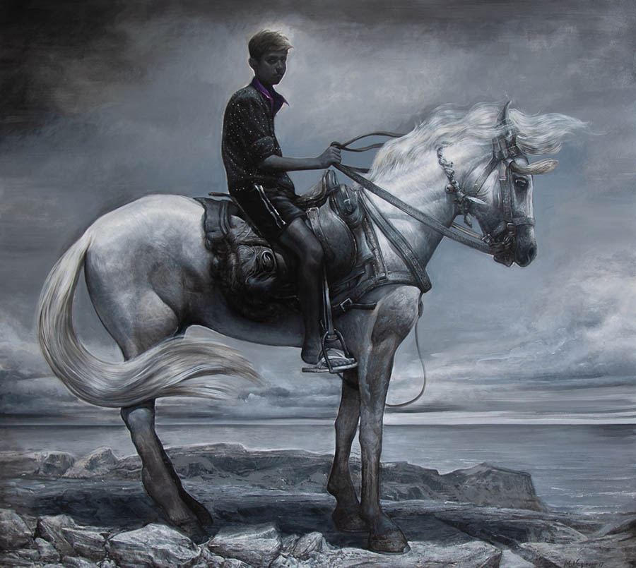 Mathieu Nozieres boy on horse