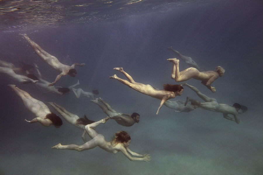 Tamara Dean underwater people
