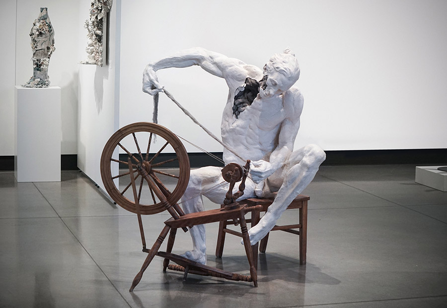 Justin M Zielke man spinning wheel Yasha Young