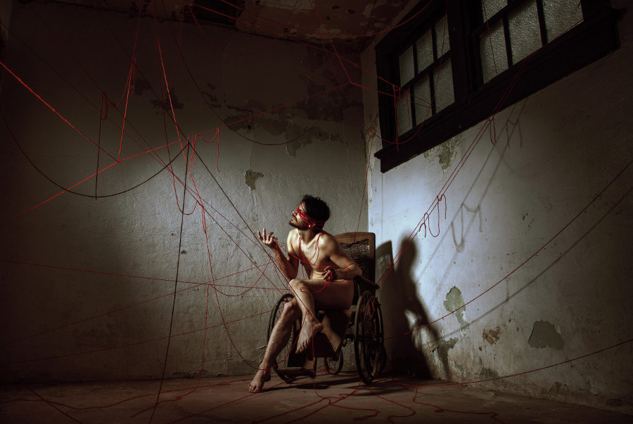 Wurmwood Photography red string Beautiful Bizarre