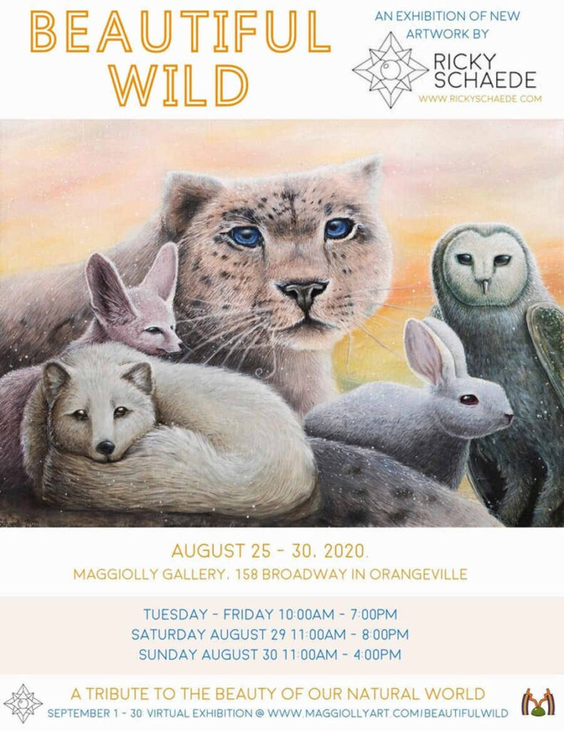 Ricky Schaede Beautiful Wild solo show