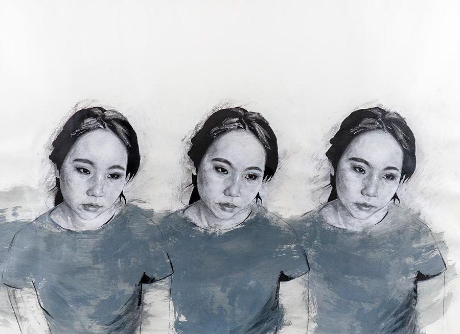 Daniel Segrove painting Modern Eden Gallery
