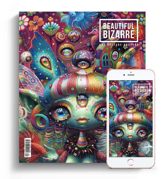 beautiful bizarre magazine - issue 30 - yoko d'holbachie cover