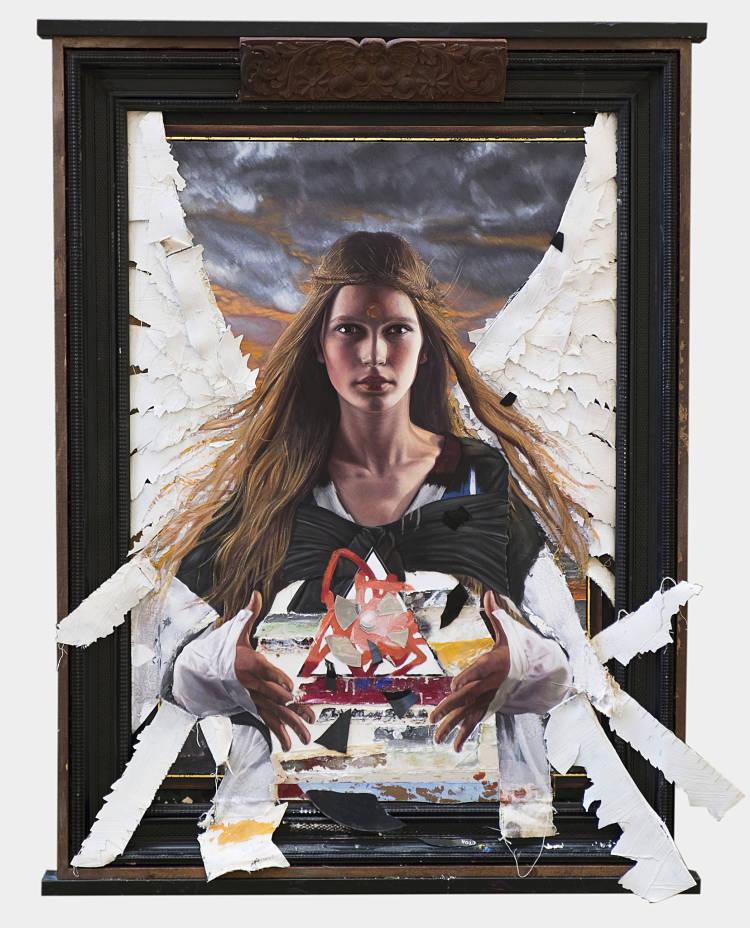 James Gortner memory painting