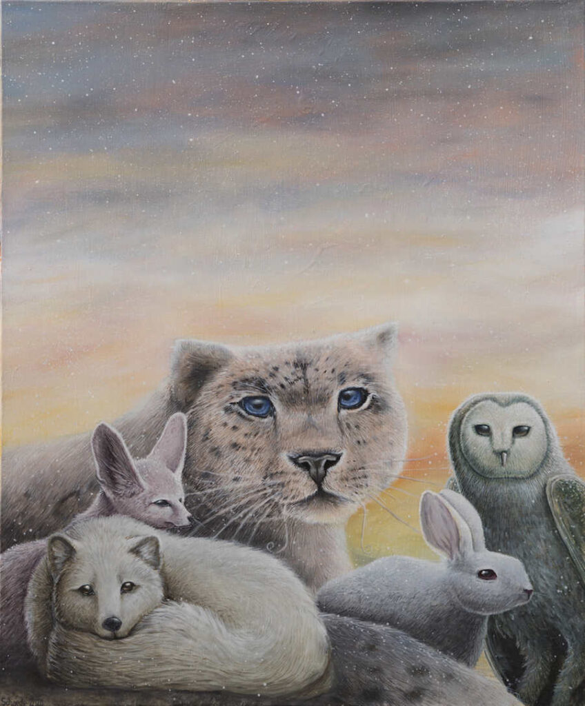 Ricky Schaede animals together