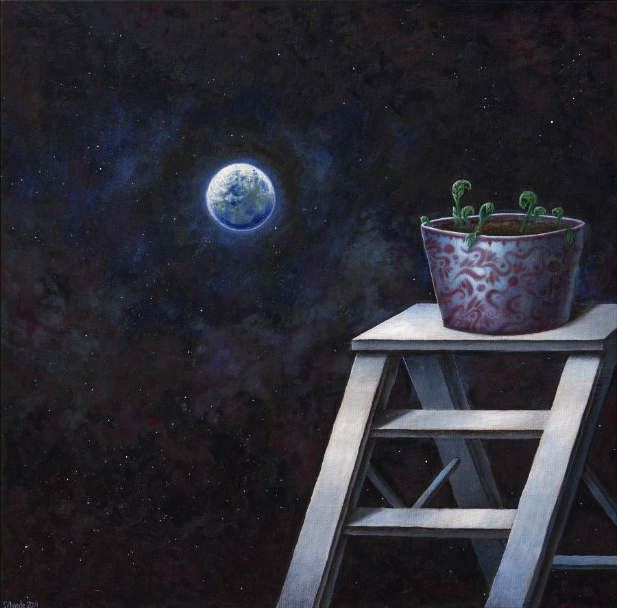 Ricky Schaede plant earth