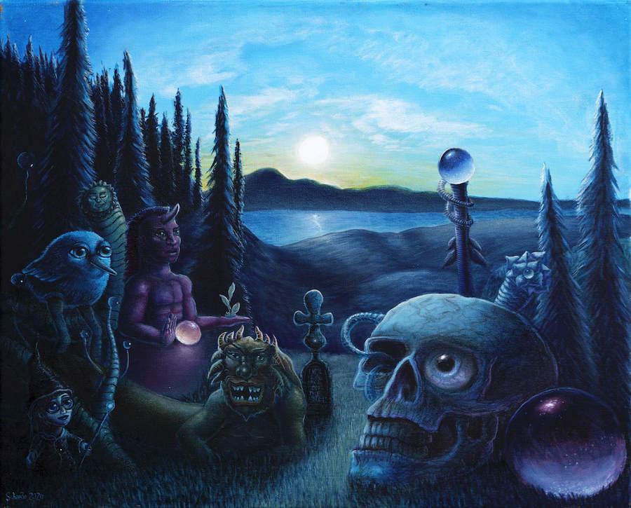 Ricky Schaede visionary art
