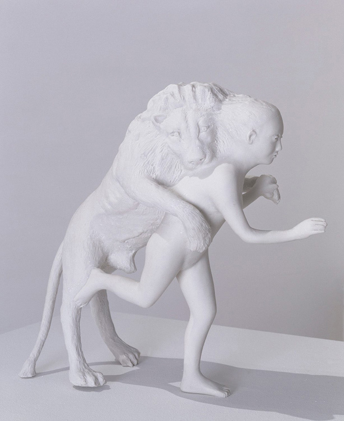 kiki-smith_woman-with-lion
