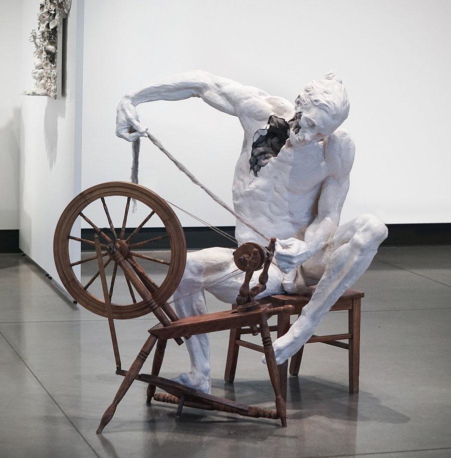 Justin M Zielke - Peoples Choice Award Winner - nude male sculpture