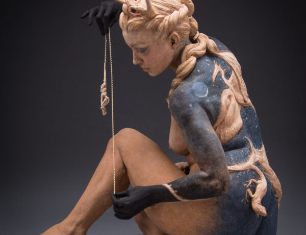 6153_Kristine and Colin Poole - ceramic figurative sculpture a