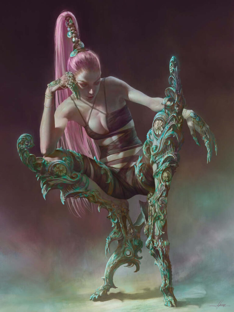 Christophe Young Valdis digital art Yasha Young interview