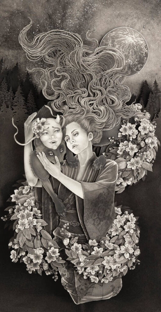 Daria Aksenova surreal paper art Haven Gallery