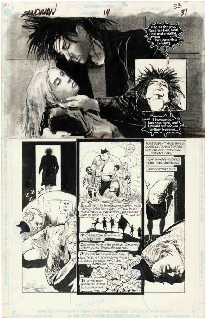 Mike Dringenberg Sandman Vol 2 #14