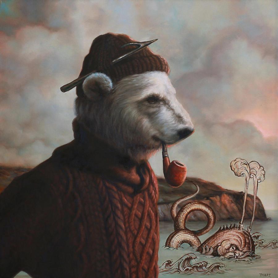 Richard Ahnert polar bear Copro Gallery
