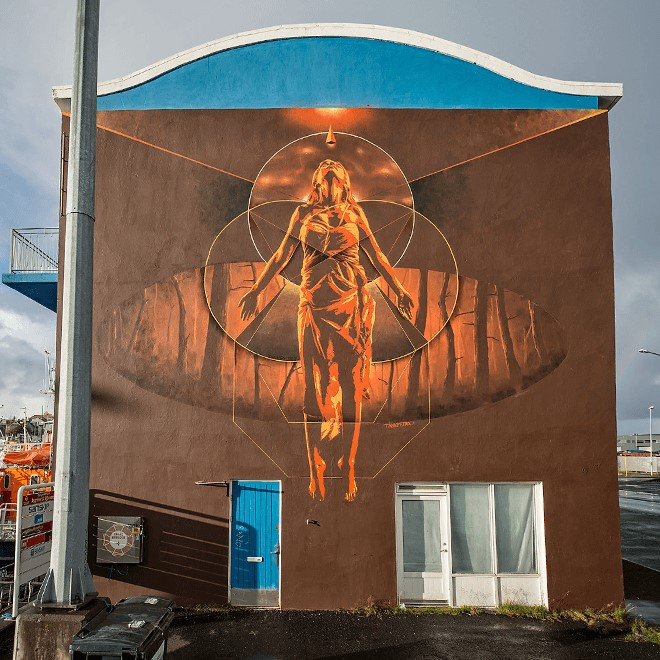 Tan Petrol street artist