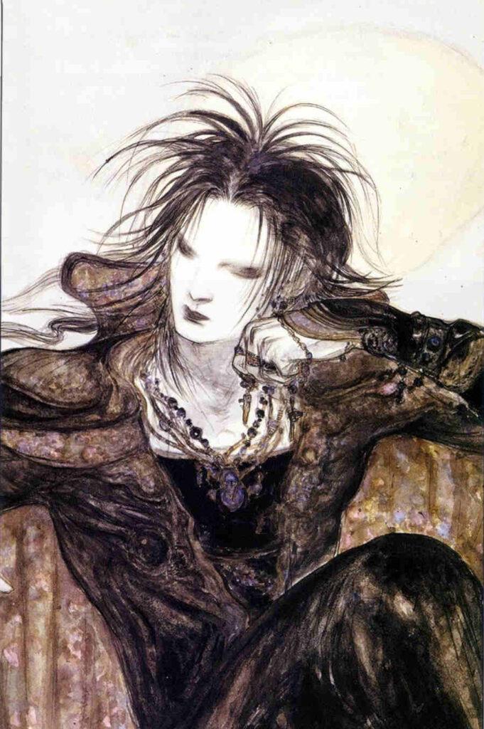 Yoshitaka Amano Morpheus illustration painting