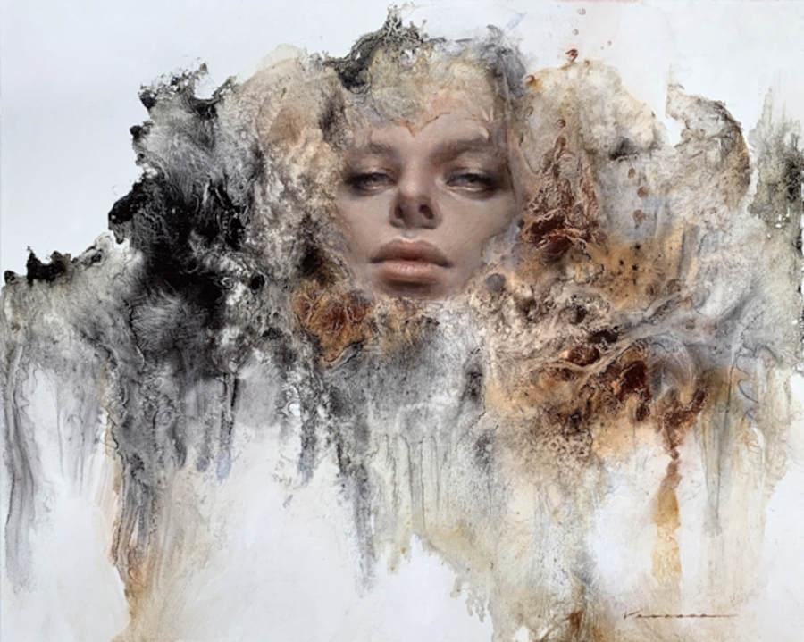 Vanessa Lemen mystical female painting IX Online