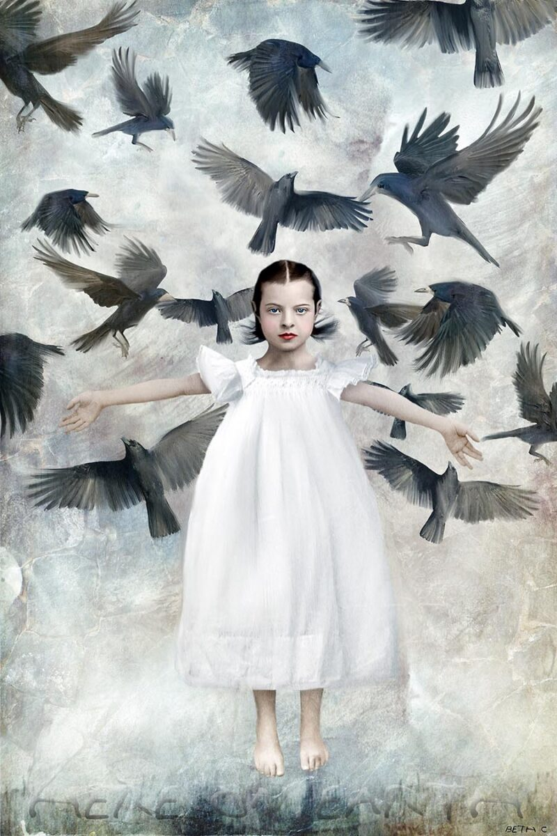 Beth Conklin painting