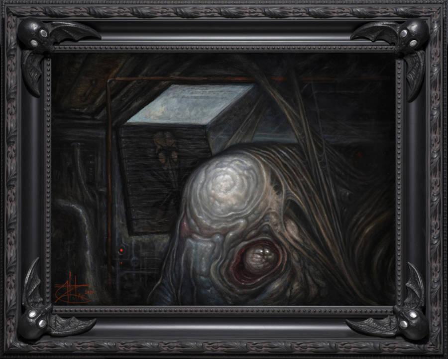 Chet Zar dark art creature Copro Gallery