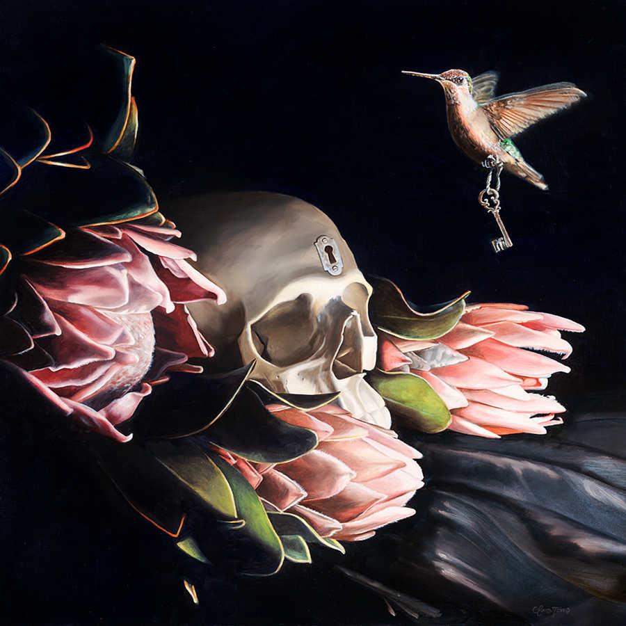 Clare Toms hummingbird key