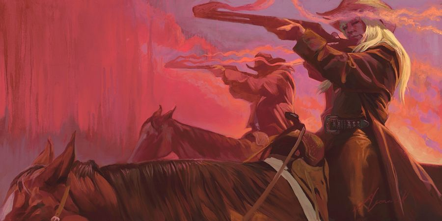 Gabe Leonard western painting