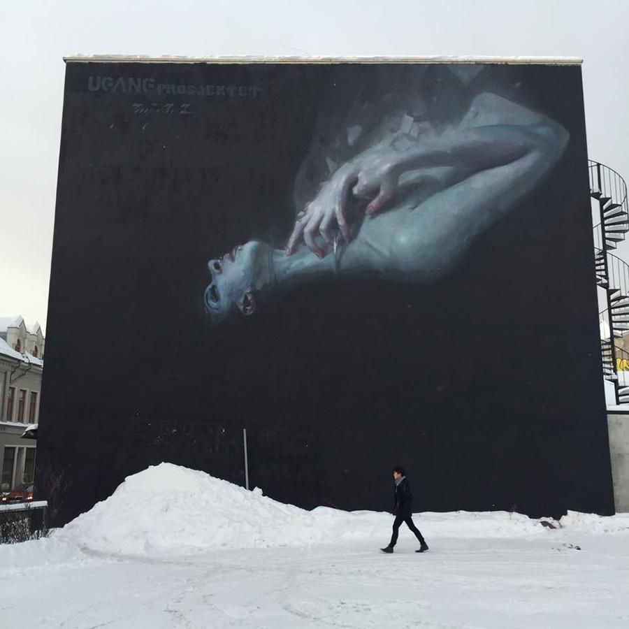 Henrik Aa. Uldalen painting