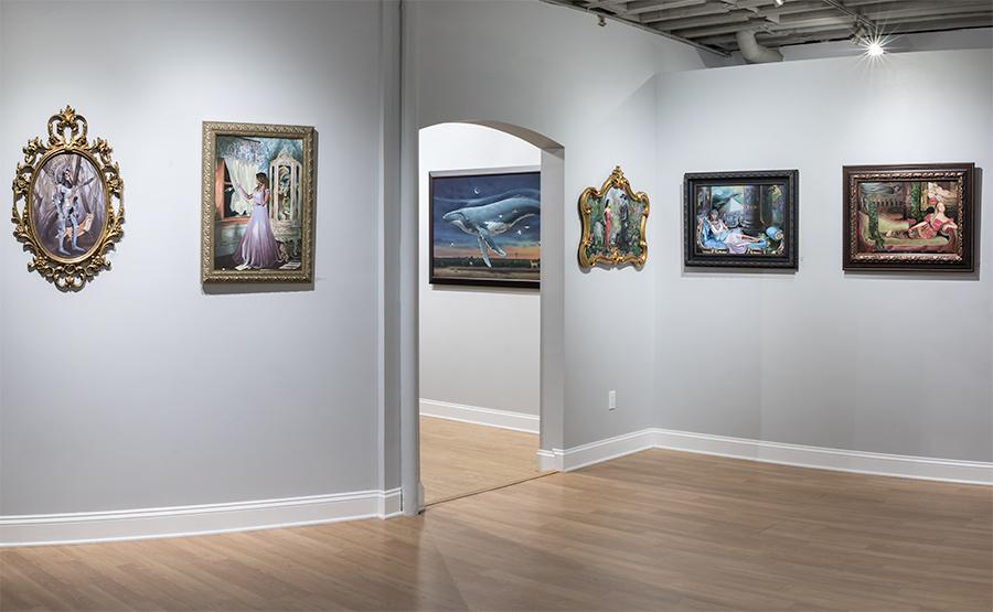 Joseph Weinreb Haven Gallery Installation