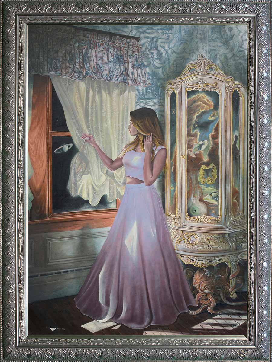 Joseph Weinreb painting  We were never meant to remember