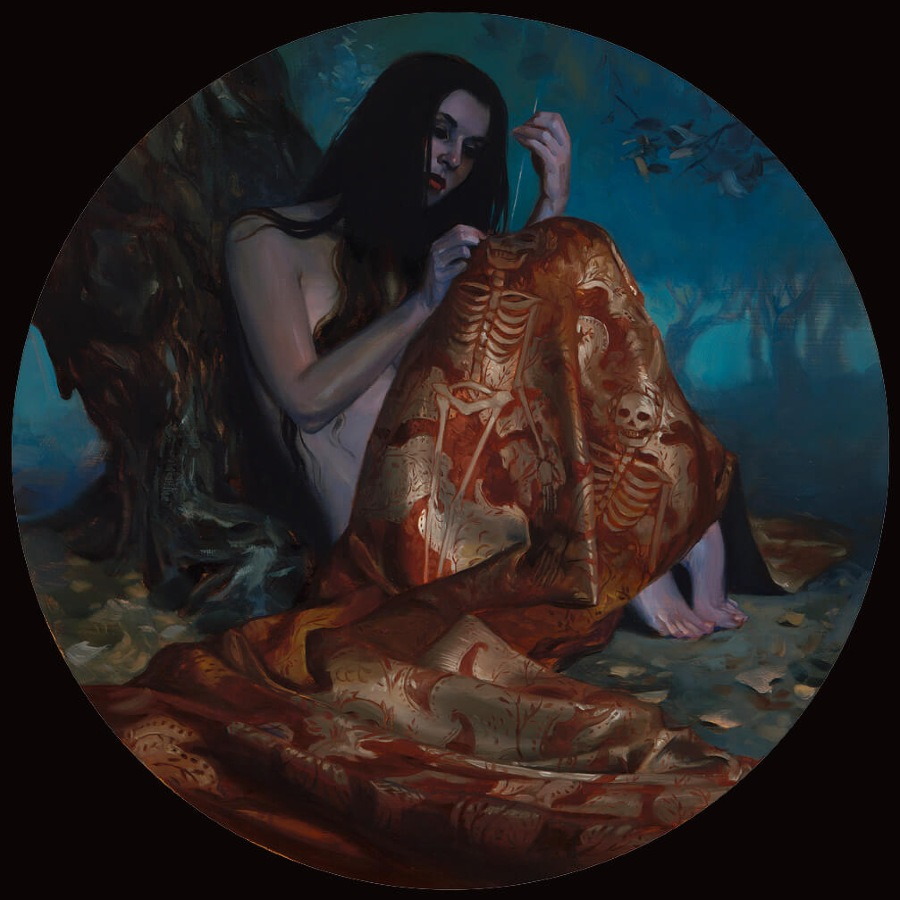 Kai Carpenter Dark Fantasy Oil Painting