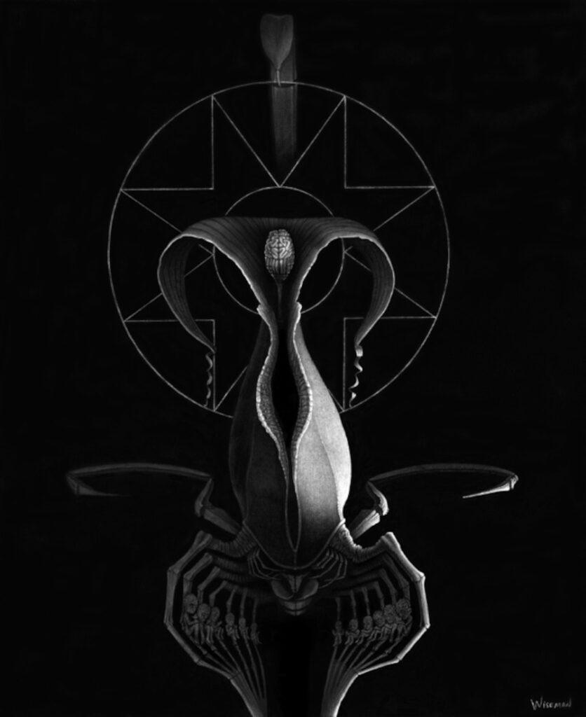 Kevin Wiseman symbolic arcane art