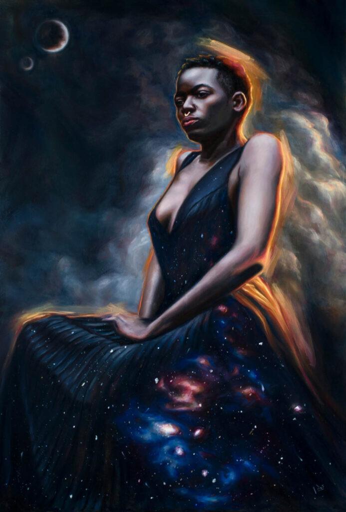 Tiffany Dae Stars galaxy woman IX Online
