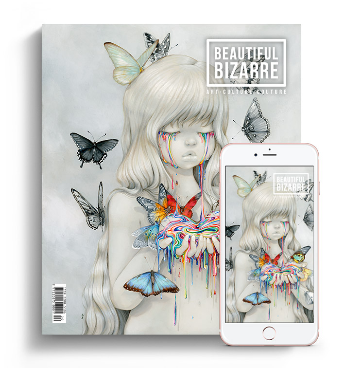 Beautiful Bizarre Magazine - issue 31 with Camilla d'Errico pop surrealism painting