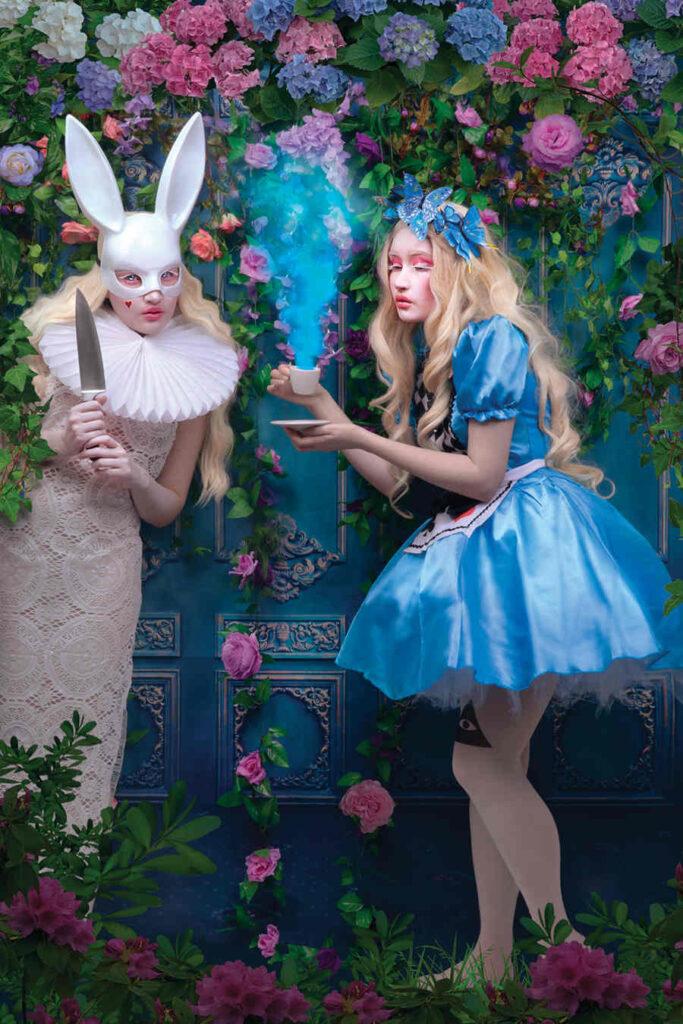 Natalie Shau Alice Wonderland photography iCanvas