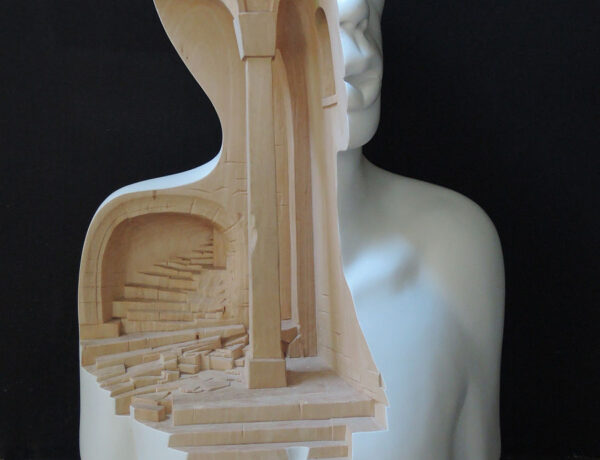 Richard Stipl surreal sculpture