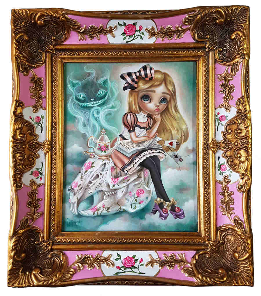 Simona Candini pop art kitsch frame