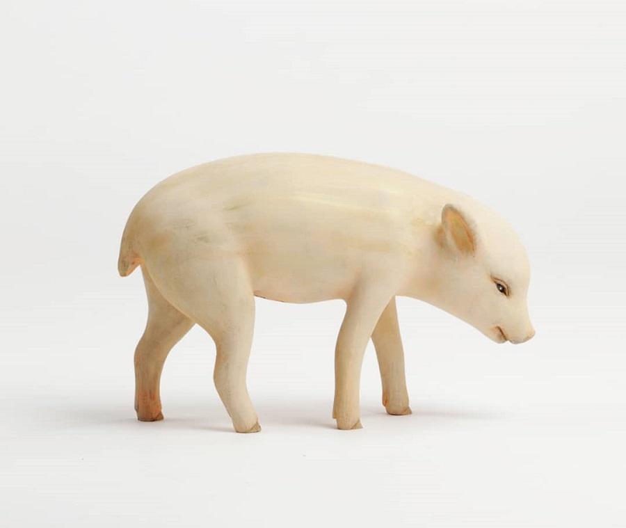 Yoshimasa-Tsuchiya-pig-sculpture