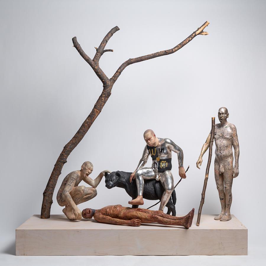 Richard Stipl surreal figures