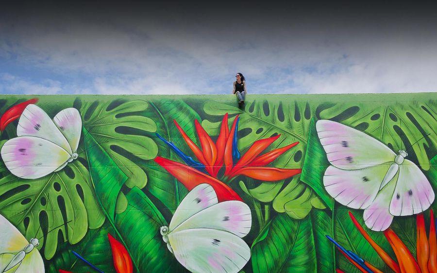 Amandalynn mural in San Francisco's Lower Polk