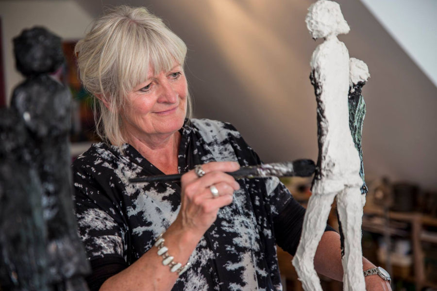 Karen Brinck sculpting tutorial