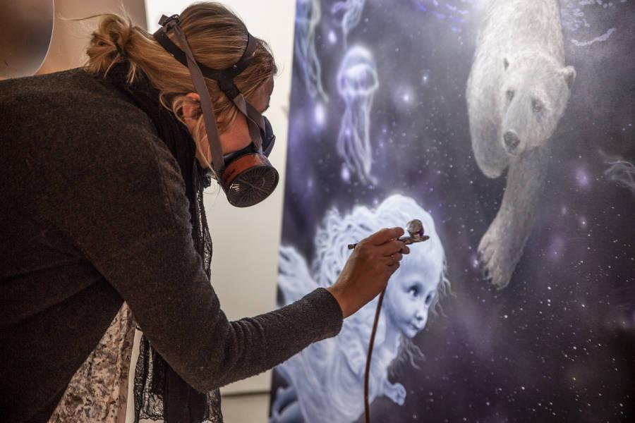 Anne Juul Chrisophersen progress studio