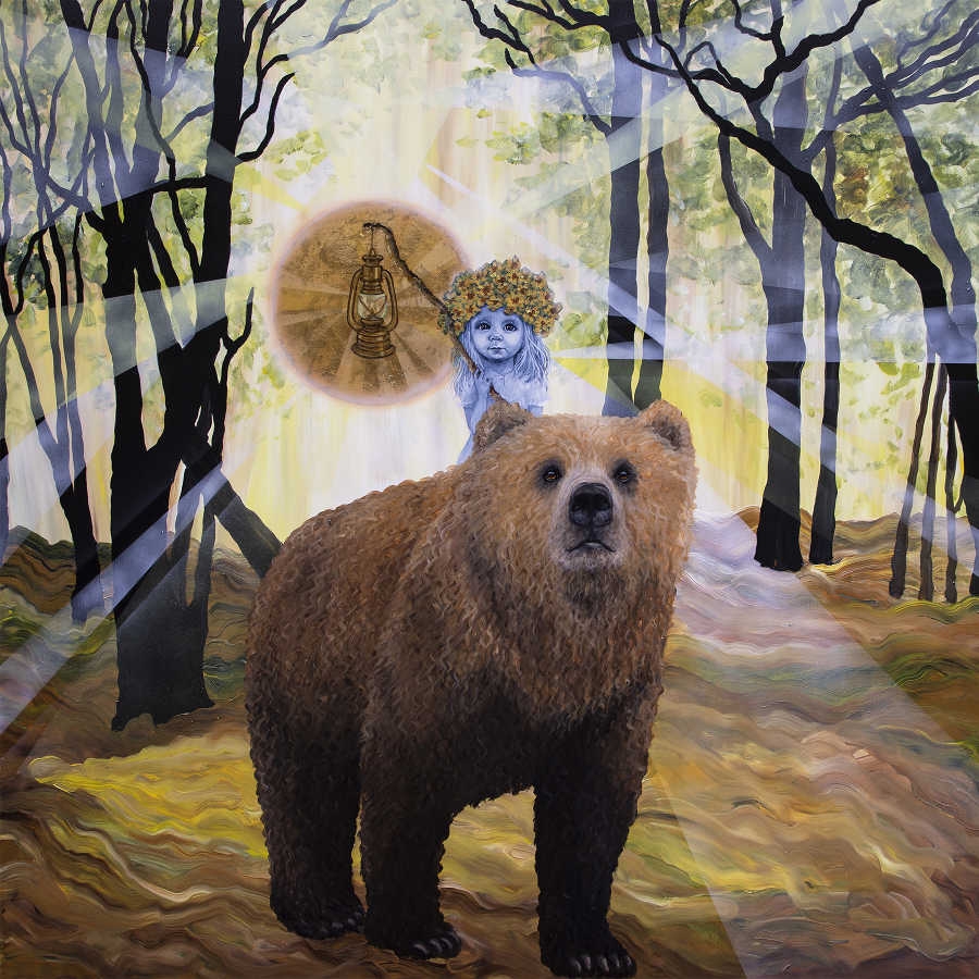 Anne Juul Chrisophersen summer bear forest