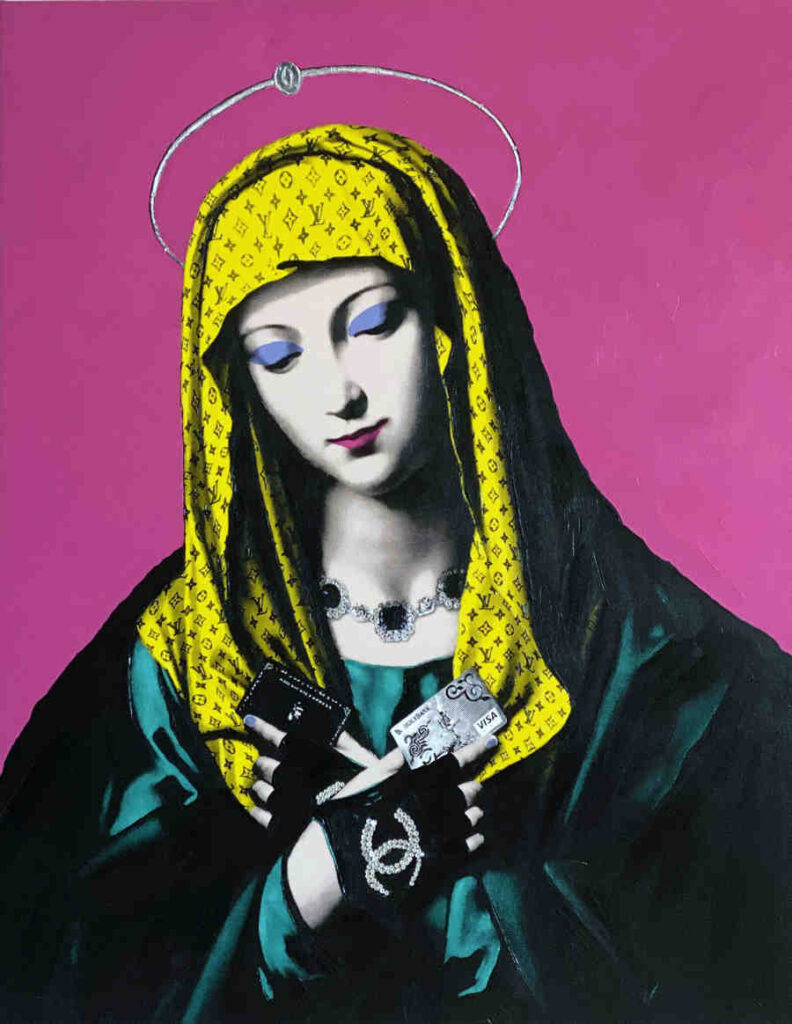 Antonio Del Prete Madonna street art
