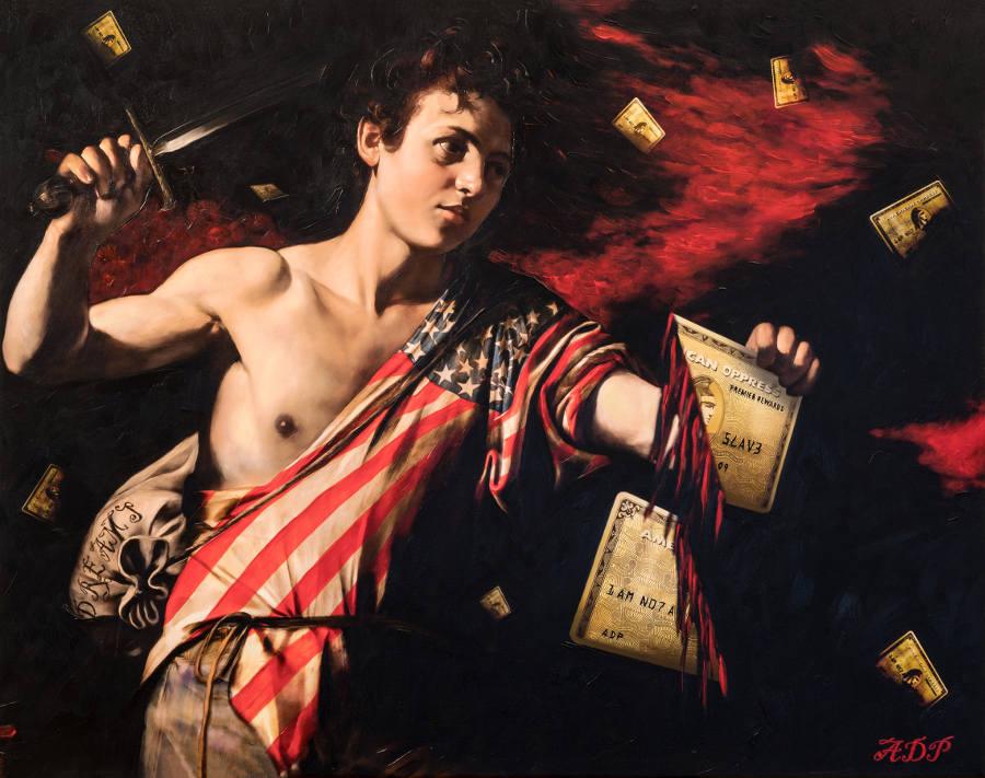 Antonio Del Prete America dramatic classical painting