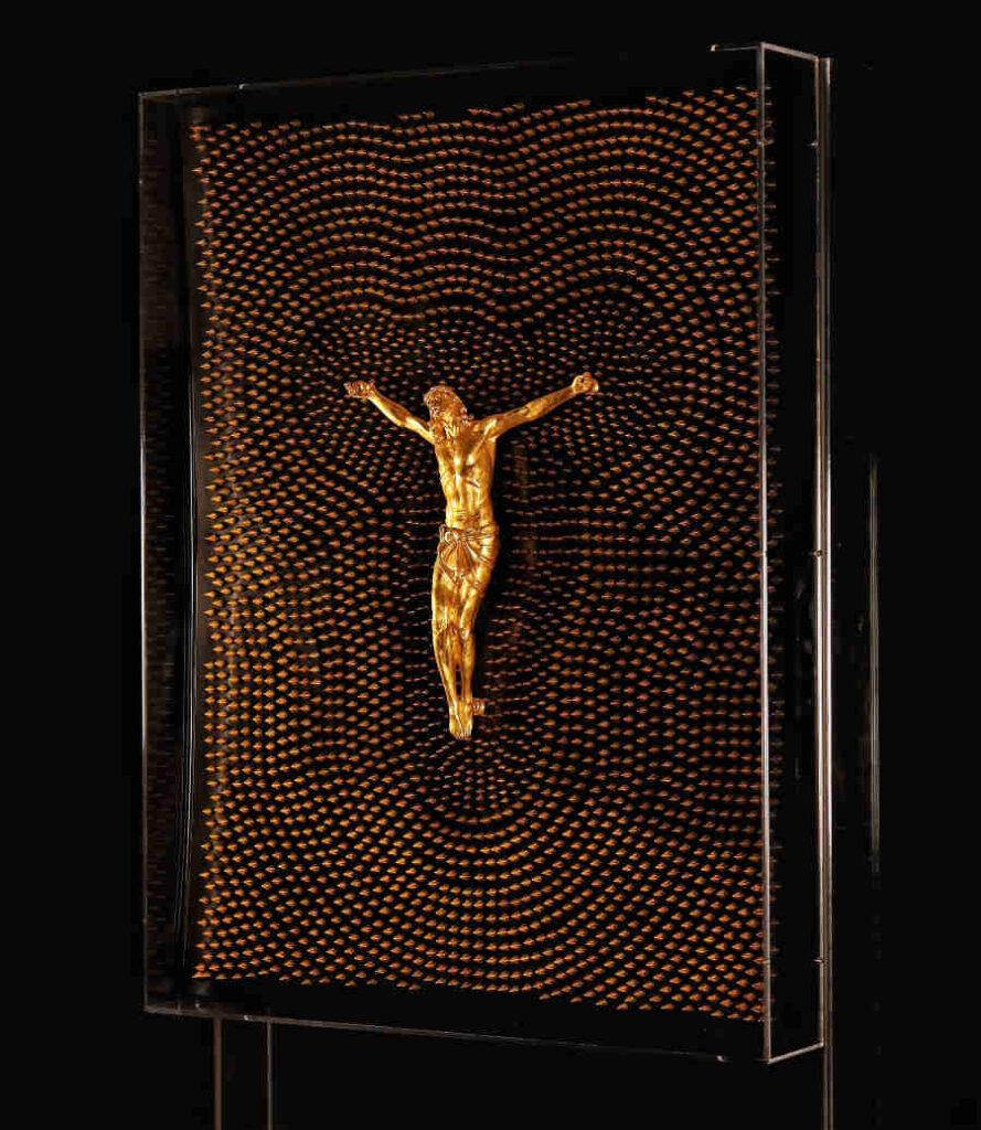 Antonio Del Prete Jesus Christ sculpture spikes
