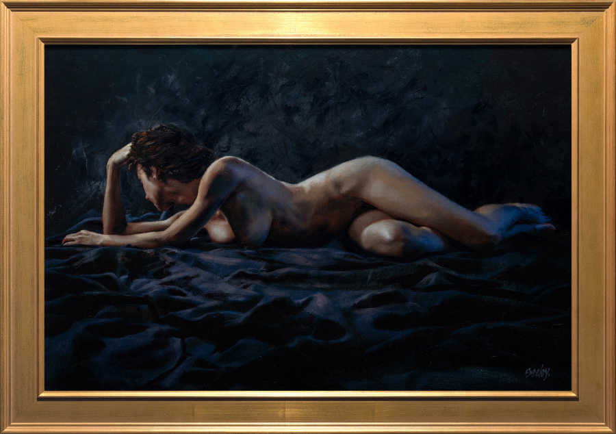 Dave Seeley nude female portrait