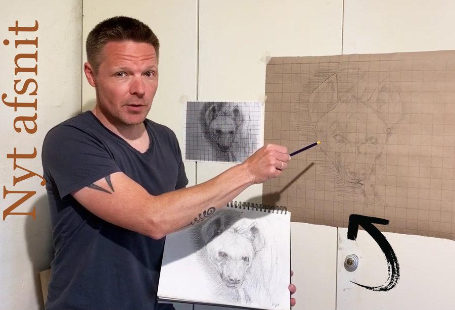 Lauge Voigt art illustration tutorial