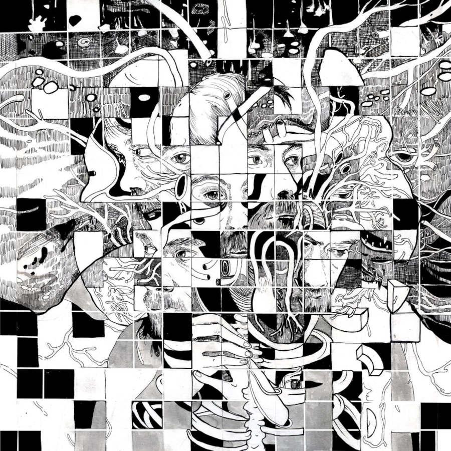Eva Redamonti surreal pixel illustration