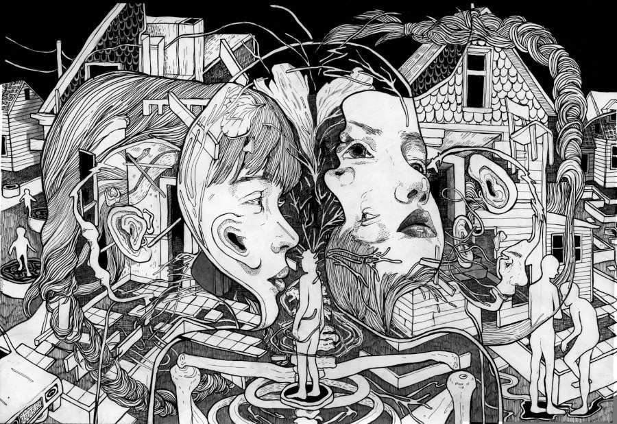 Eva Redamonti children illustration surreal
