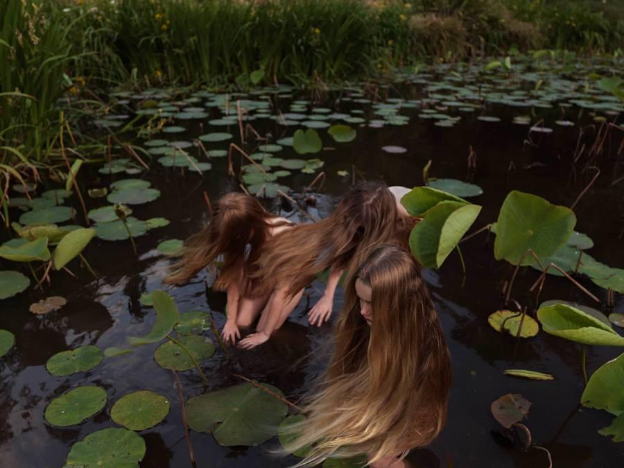 Tamara Dean Australian Photography Girls in Creek
