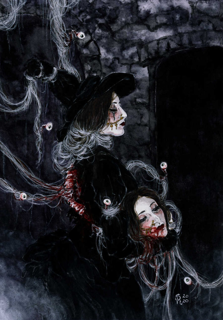 Illusorya gothic witches dark art